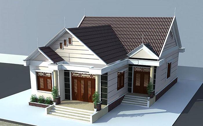 Mẫu thiết kế mái nhà đẹp