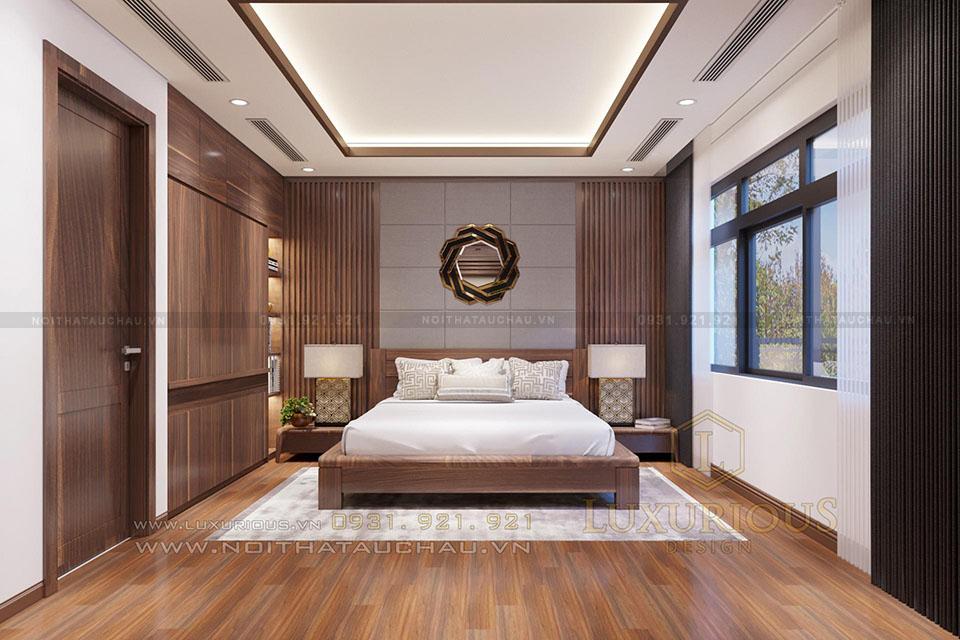 Mẫu thiết kế phòng ngủ hiện đại đẹp