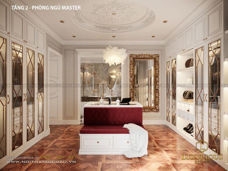 Phòng thay đồ Master