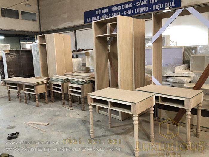 Sản xuất đồ gỗ nội thất gỗ công nghiệp