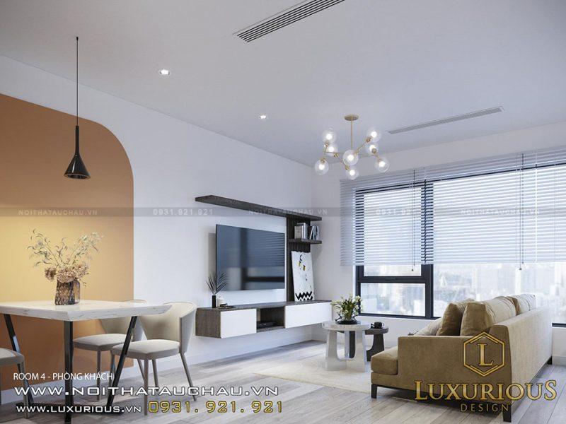 Thiết kế chuỗi căn hộ