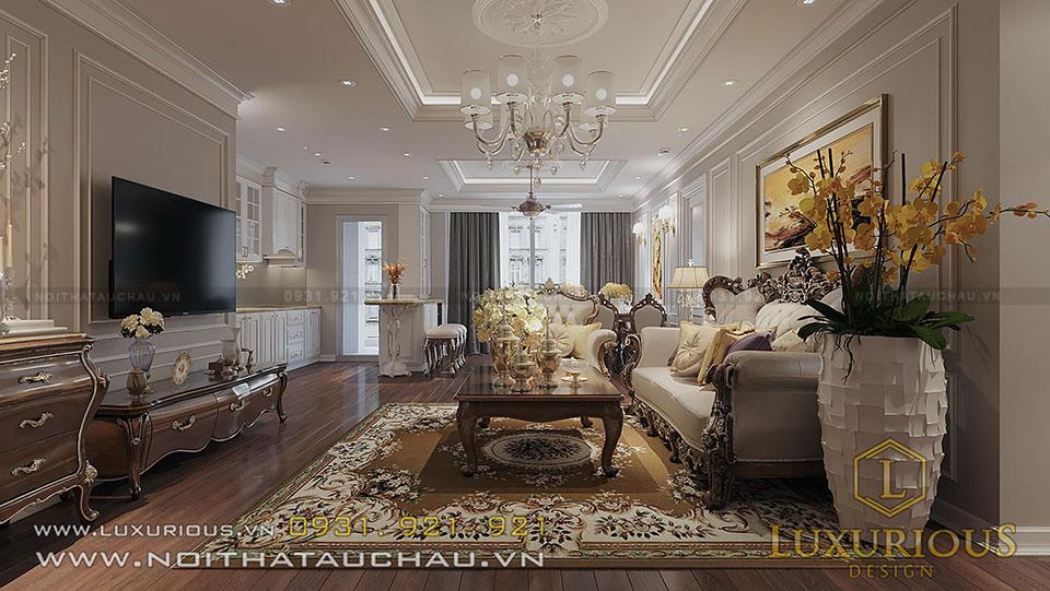 Thiết kế nội thất căn hộ 81 tầng HCM