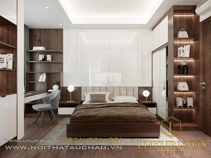 Mẫu thiết kế nội thất phòng ngủ chính