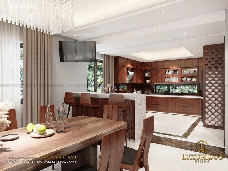 Thiết kế phòng ăn hiện đại