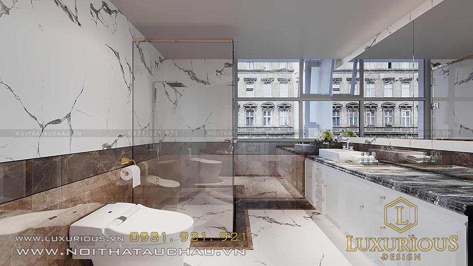 Phòng tắm căn hộ Land Mark 81