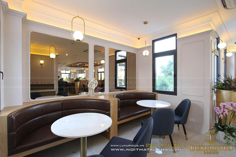 Đơn vị hoàn thiện nội thất quán Cà phê