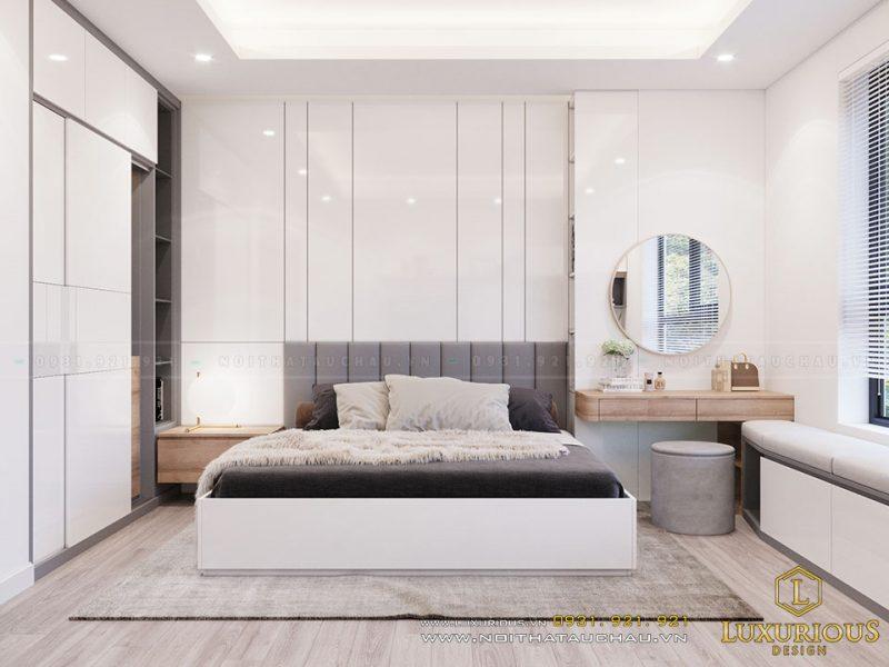 Nội thất chung cư 2 phòng ngủ hiện đại