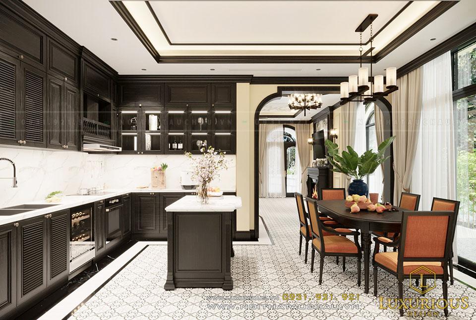 Phòng ăn phong cách Phương Đông
