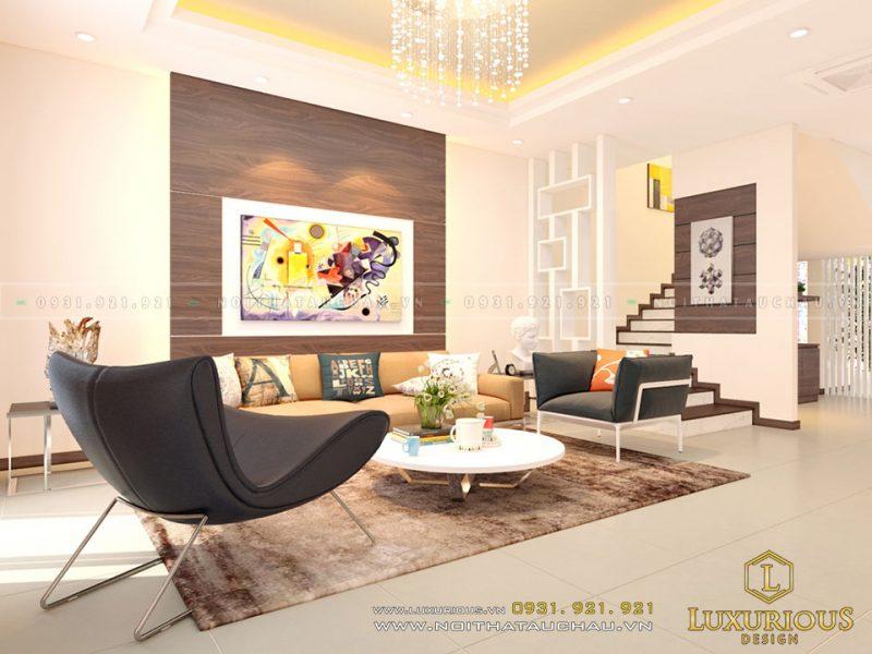 Phòng Khách thiết kế nội thất hiện đại
