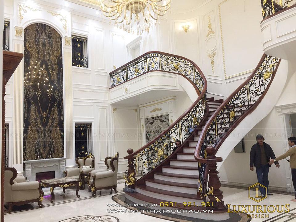Phòng khách biệt thự đẹp đẳng cấp