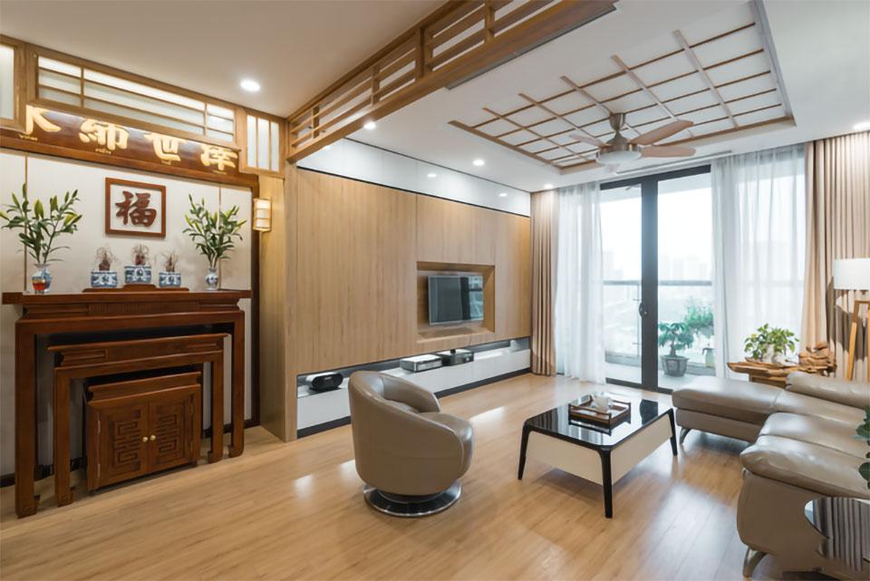 Phòng khách phong cách Nhật Bản