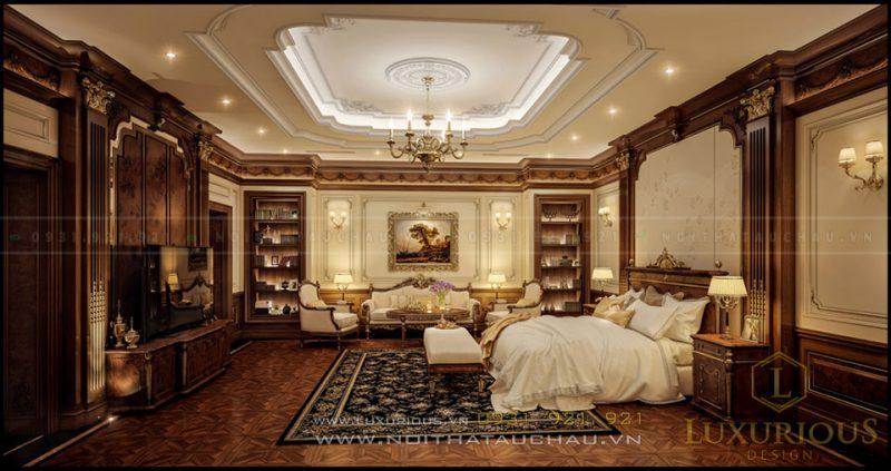 Phòng ngủ biệt thự đẹp đẳng cấp
