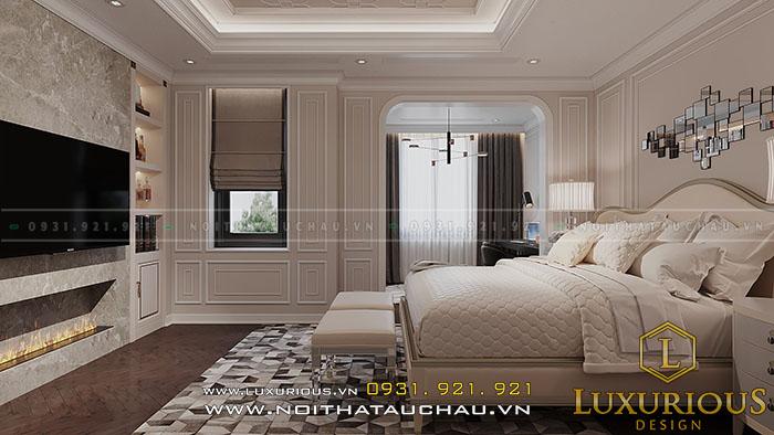 Phòng ngủ Master vợ chồng