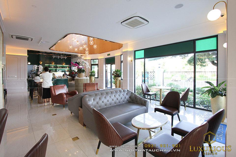 Setup nội thất quán Cafe đẹp