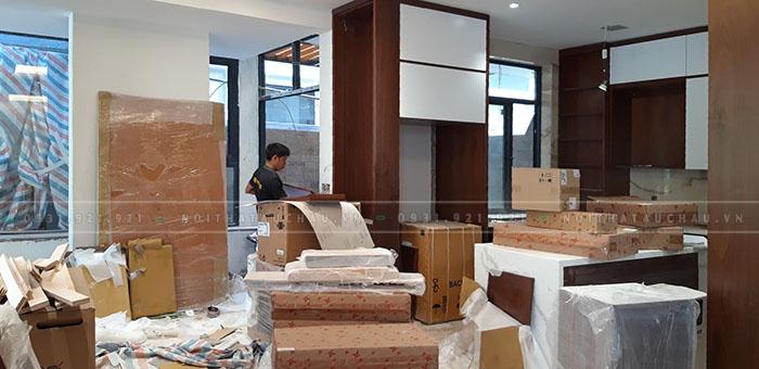 Thi công lắp đặt hoàn thiện nội thất