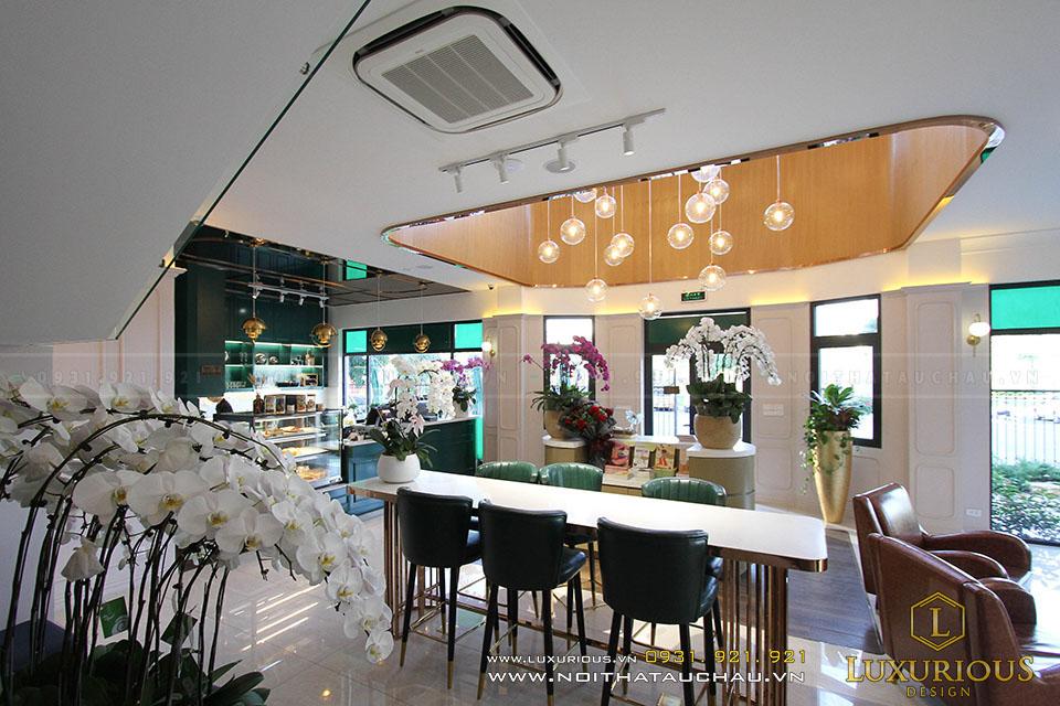 Thi công nội thất quán Cafe Vinhomes Imperia Hải Phòng