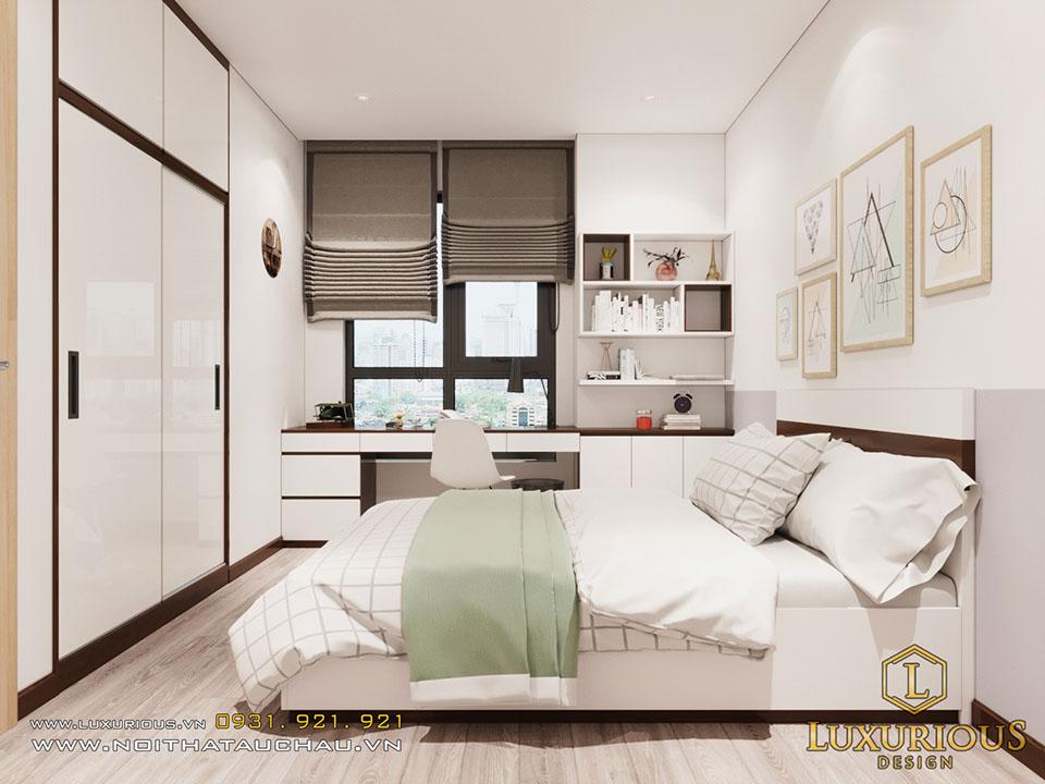 Thiết kế chung cư 1 phòng ngủ