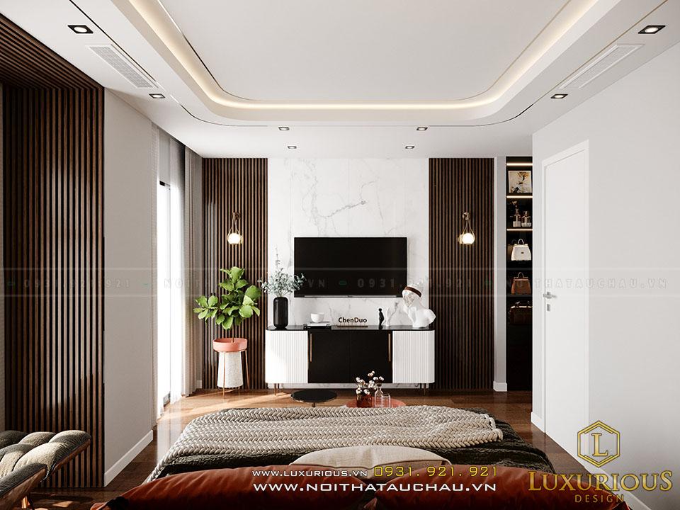 Thiết kế nội thất biệt thự Vinhomes Ngọc Trai