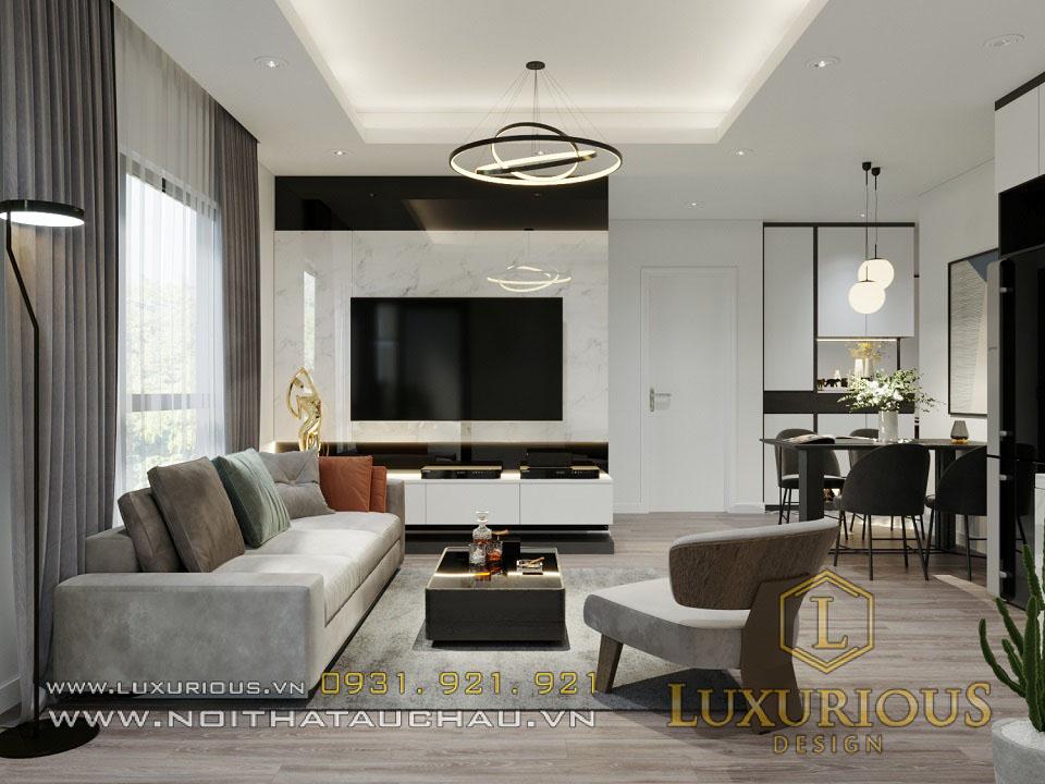 Thiết kế nội thất chung cư Samsora Hà Đông