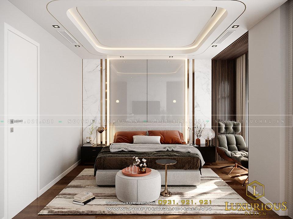 Phòng ngủ Master phong cách hiện đại