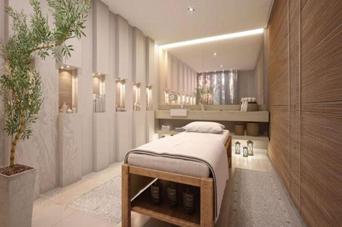 Trang trí phòng Massage Spa