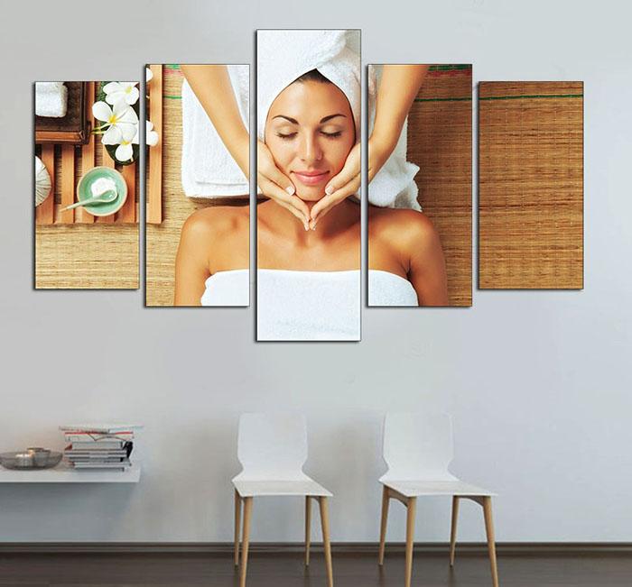 Trang trí tranh Spa treo tường