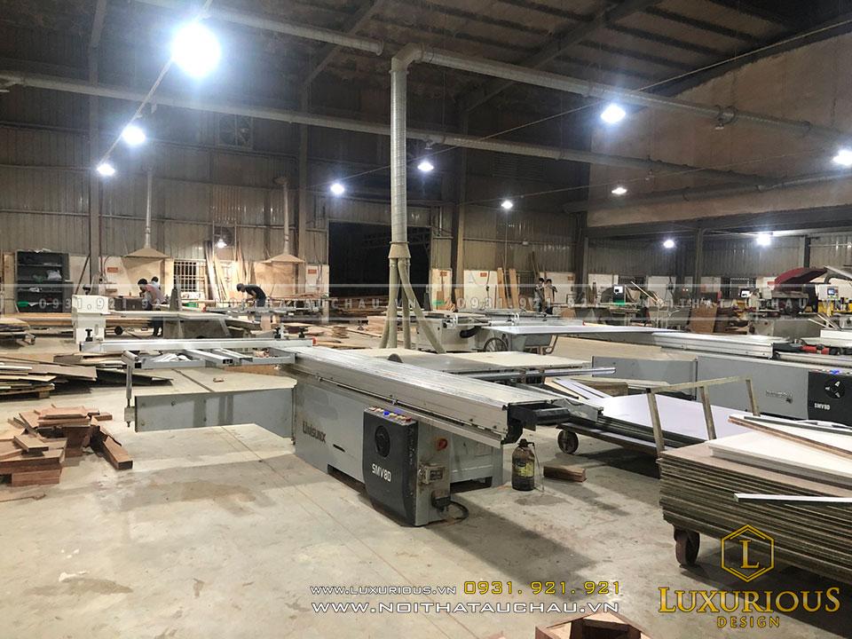 Đơn vị sản xuất nội thất gỗ văn phòng