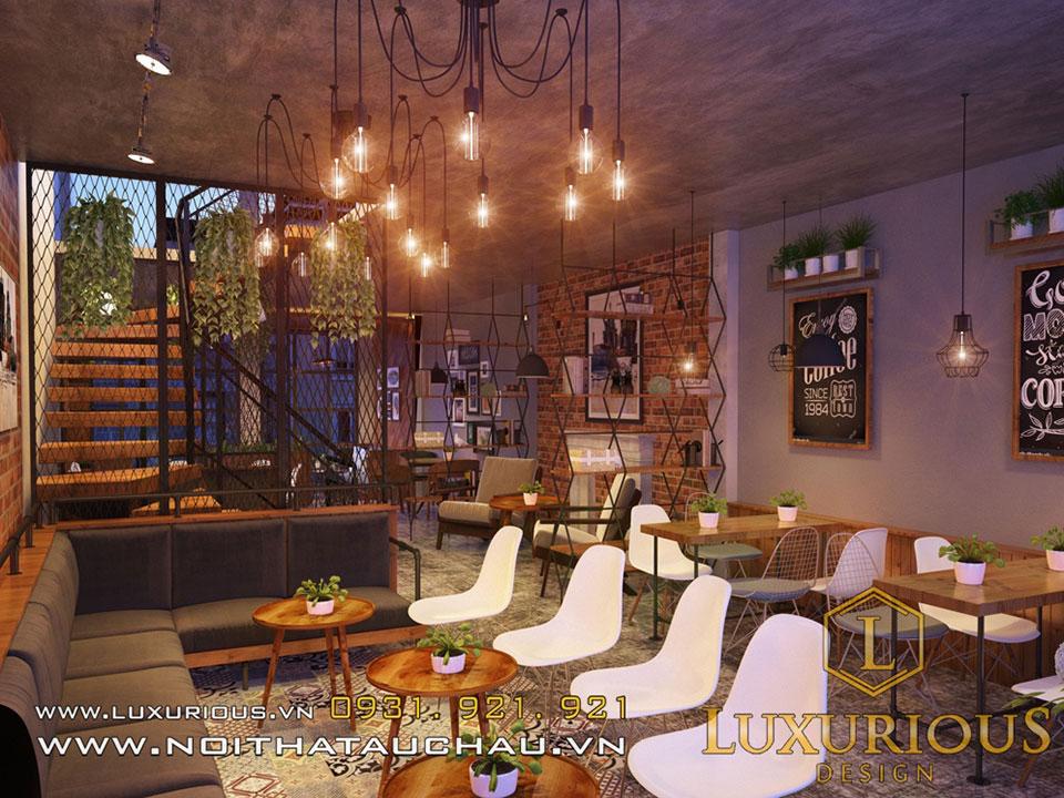 Mẫu nội thất nhà hàng