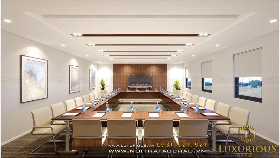 Phòng họp sang trọng và hiện đại
