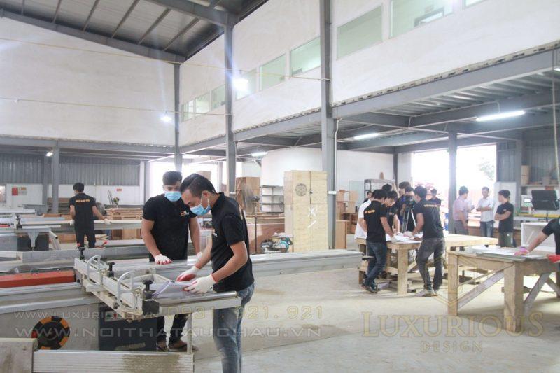 Nhà máy sản xuất nội thất thương hiệu Luxurious Design