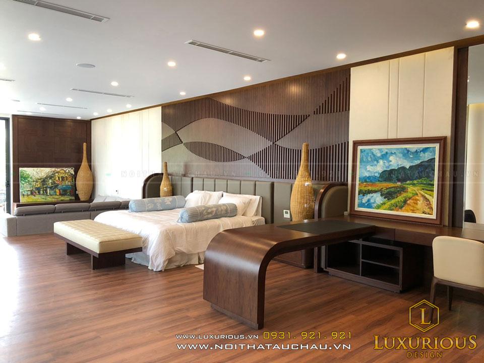 Thiết kế nội thất nhà phố phòng ngủ