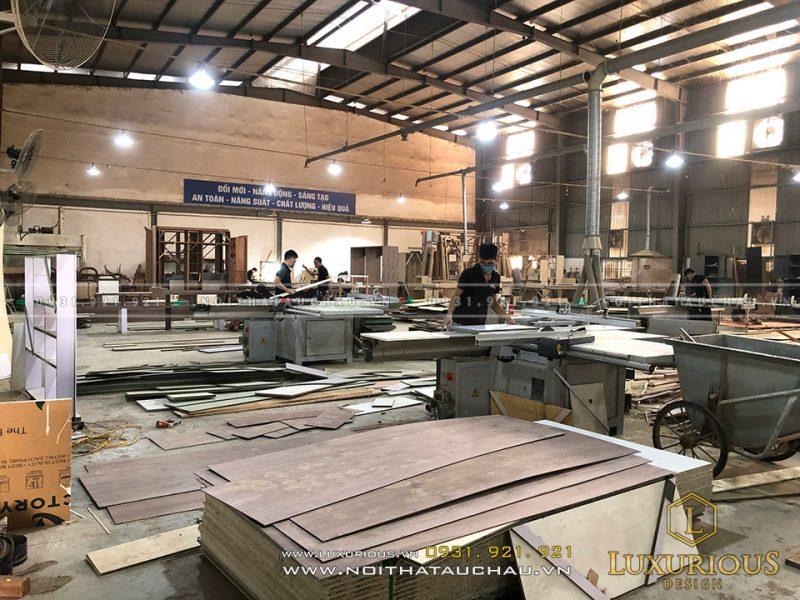 Xưởng sản xuất nội thất rộng 7.000m2