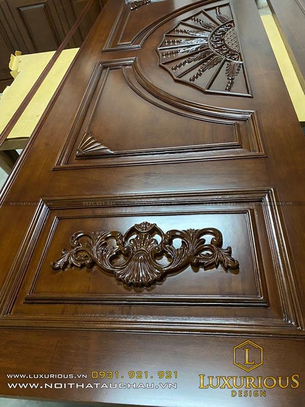 Thiết kế cửa tân cổ điển cho nhà chung cư, biệt thự cao cấp