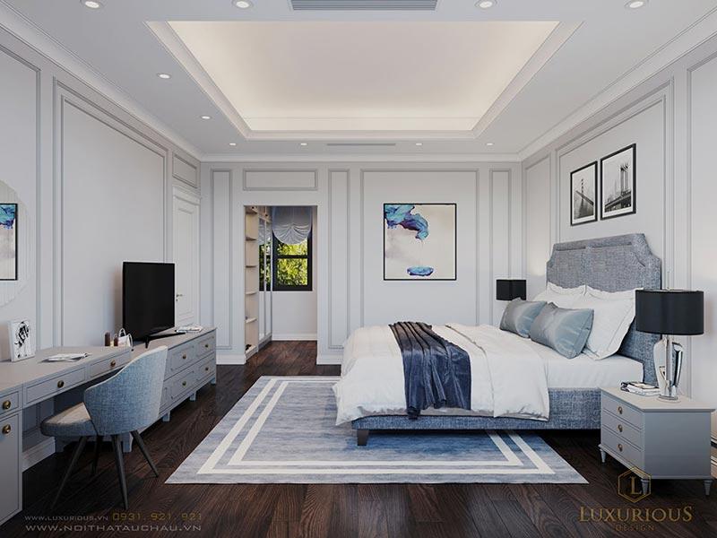 Phòng ngủ phong cách hiện đại sang trọng điểm khác biệt