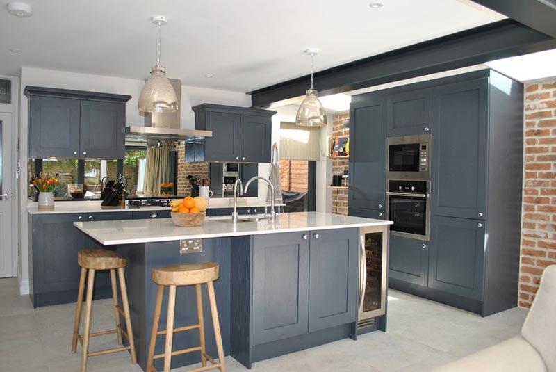Không gian nấu nướng vô cùng ấm áp, ấn tượng và quyến rũ.