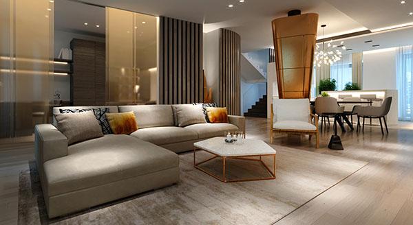 Luxurious Design - Công ty thiết kế nội thất biệt thự hiện đại số 1 tại Hà Nội