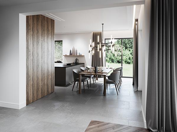 Thiết kế nội thất phòng ăn biệt thự cao cấp
