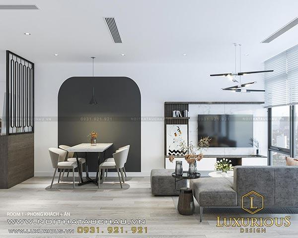 Tư vấn thiết kế thi công trọn gói nội thất chung cư hiện đại