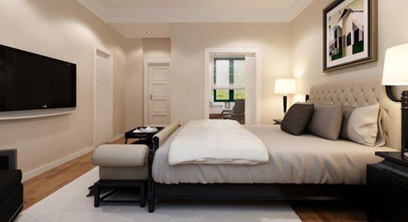 Thiết kế phòng ngủ 10m2 cho vợ chồng