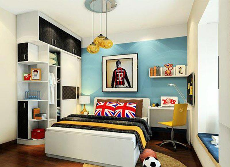 Mẫu thiết kế phòng ngủ mà chắc hăn bé trai nào cũng yêu thích