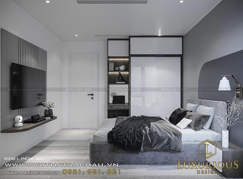 Mẫu thiết kế nội thất phòng ngủ 12m2