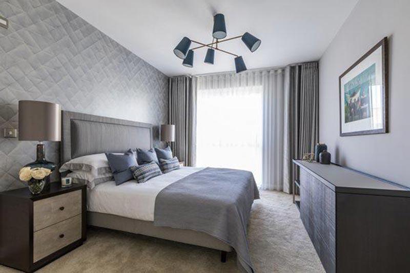 Mẫu thiết kế phòng ngủ 10m2 đơn giản đẹp, tiện nghi