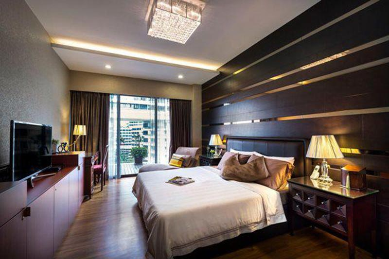 Phòng ngủ 16m2 sang trọng đẳng cấp với những ý tưởng táo bạo