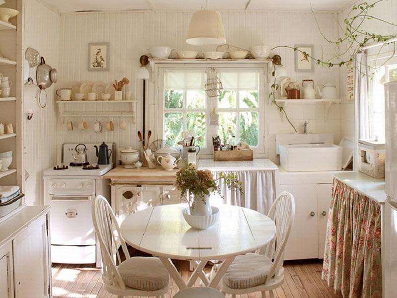 Thiết kế nội thất nhà bếp theo phong cách Vintage