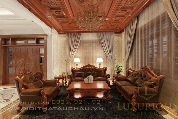 Nội thất cổ điển dành cho phòng khách