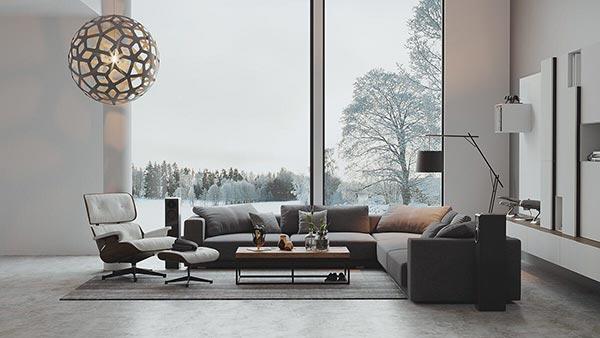 ý tưởng thiết kế nhà theo phong cách Bắc u