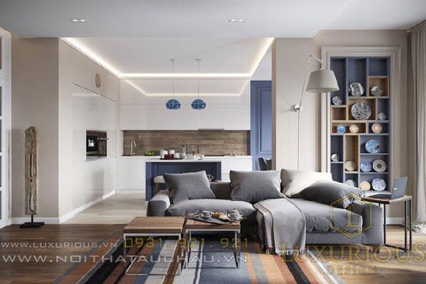 Phong cách thiết kế chung cư hiện đại