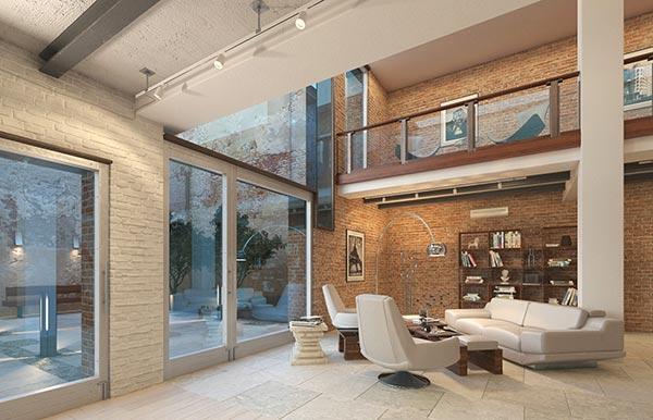 Dịch vụ thiết kế nhà phong cách nội thất hiện đại