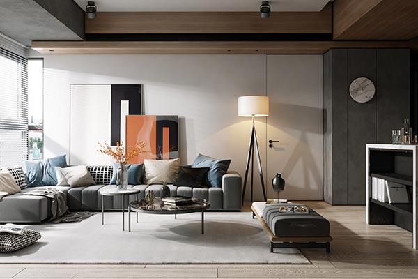 Điểm đặc trưng của các mẫu thiết kế nội thất phong cách hiện đại