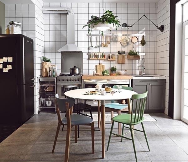 Mẫu thiết kế nội thất phòng bếp theo phong cách Bắc Âu đẹp nhất 2021